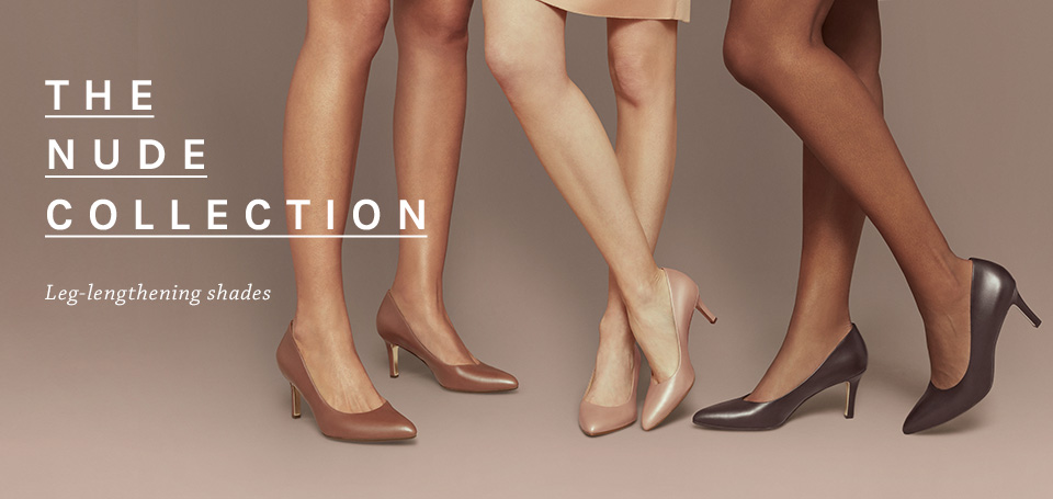 The nude collection leg-lengthening shades