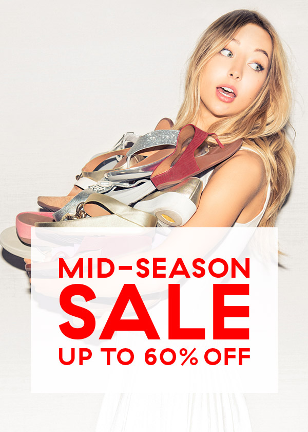 mid season sale up to 60% off