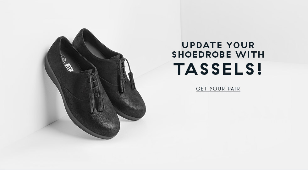update your shoedrobe with tassels!