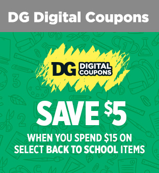 Sign up or Sign In for DG Digital Coupons at dollargeneral.com