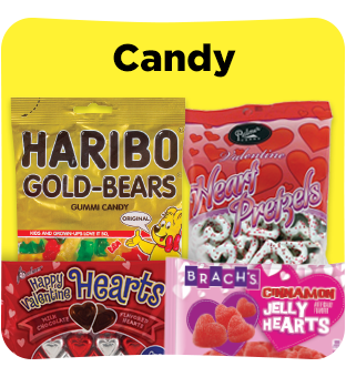 Satisfy your sweet tooth by shopping for Valentine's candy at Dollar General.