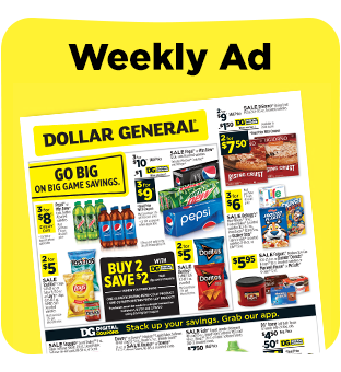 Save on items from our circular at dollargeneral.com.
