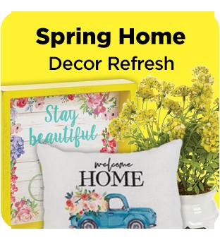 Shop Dollar General for Spring home decor.