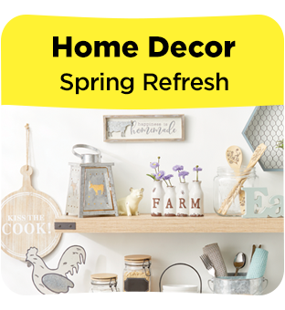 Shop Dollar General for Spring home decor.