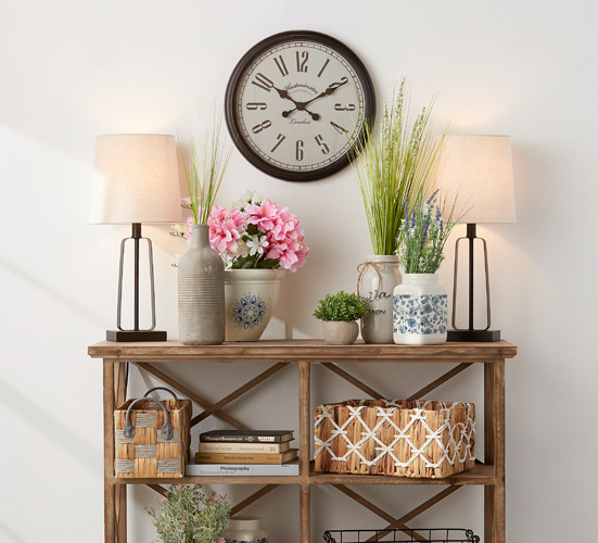 Décor items to add personality to your home.