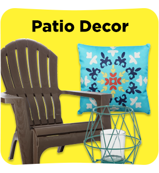 Find all your Patio Decor at Dollar General