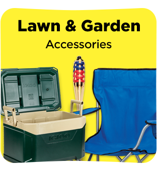 Find all you lawn and garden accessories at DG
