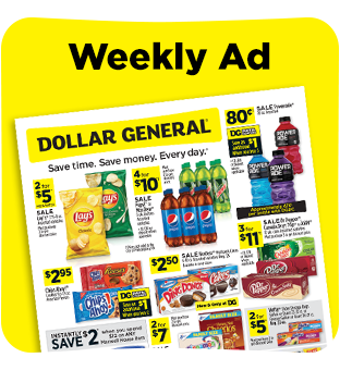Save on your favorite products from our weekly ad at Dollar General.
