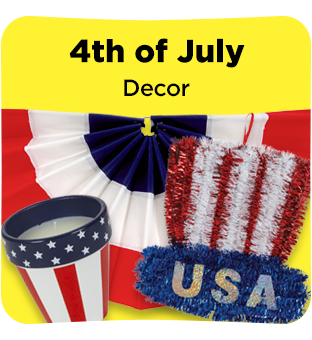Find all your Fourth of July Decor at Dollar General