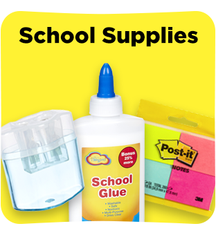 Find all your school supplies at Dollar General.