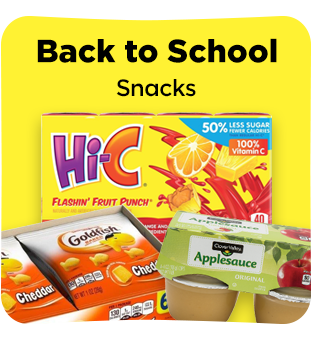 Find all your back to school food items at Dollar General