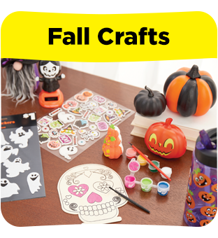 Find all your fall craft supplies at Dollar General.