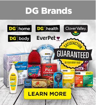 DG Brands LEARN MORE