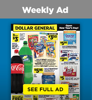 Weekly Ad SEE FULL AD