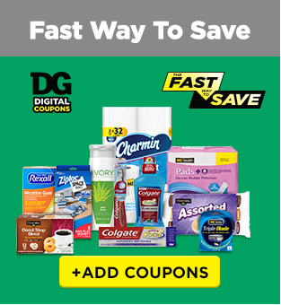 Fast Way To Save +ADD COUPONS