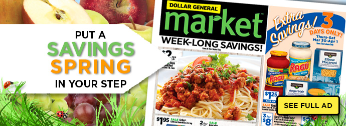 Pick your way to save! DG Digital Coupons. Print At Home