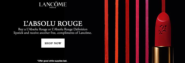 Lancome Rouge BOGO