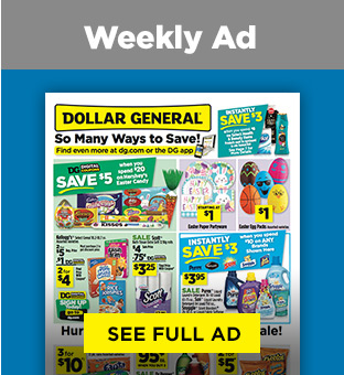 Savings on Weekly Circualr at Dollargeneral.com