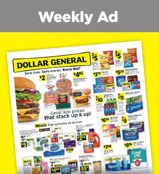 Dollar General | Save Time. Save Money. Every day!