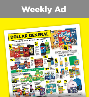 3d8300e51 Dollar General | Save Time. Save Money. Every day!