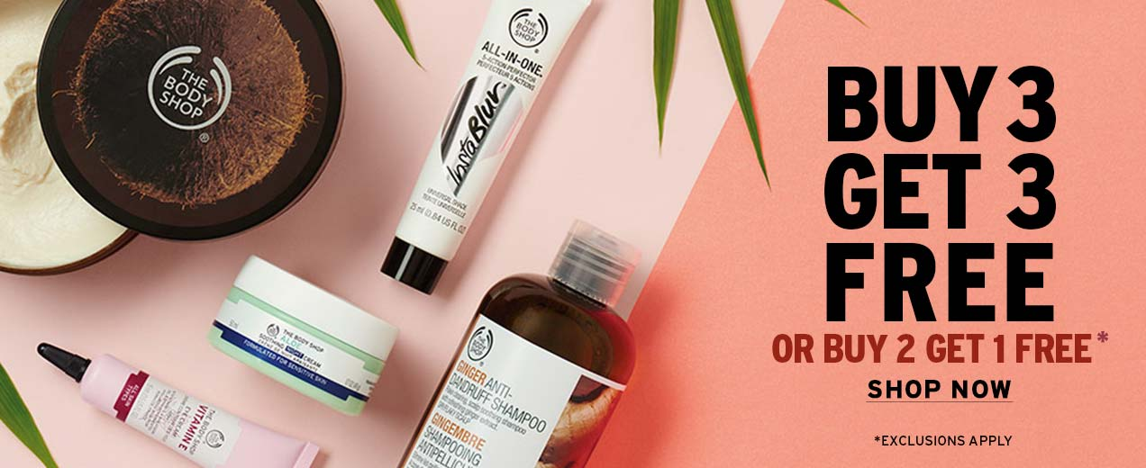 Receive a free 3-piece bonus gift with your 3 Products purchase