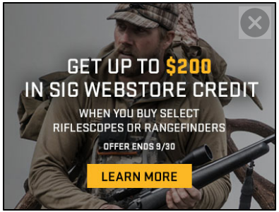 SIG SAUER® Electro-Optics Transforms Hunting with the launch